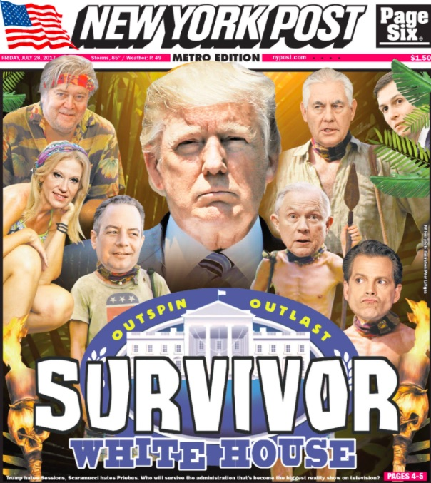 trump survivor